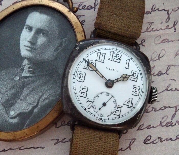reloj de la primera guerra mundial