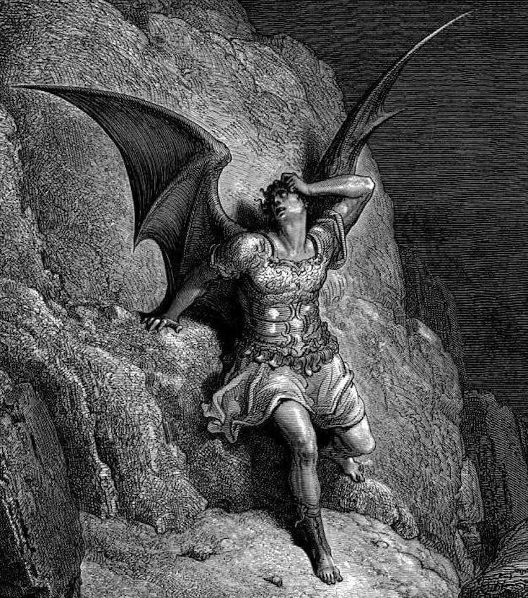 representacion satanas