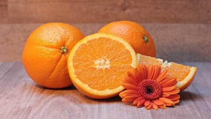 vitamina c naranja