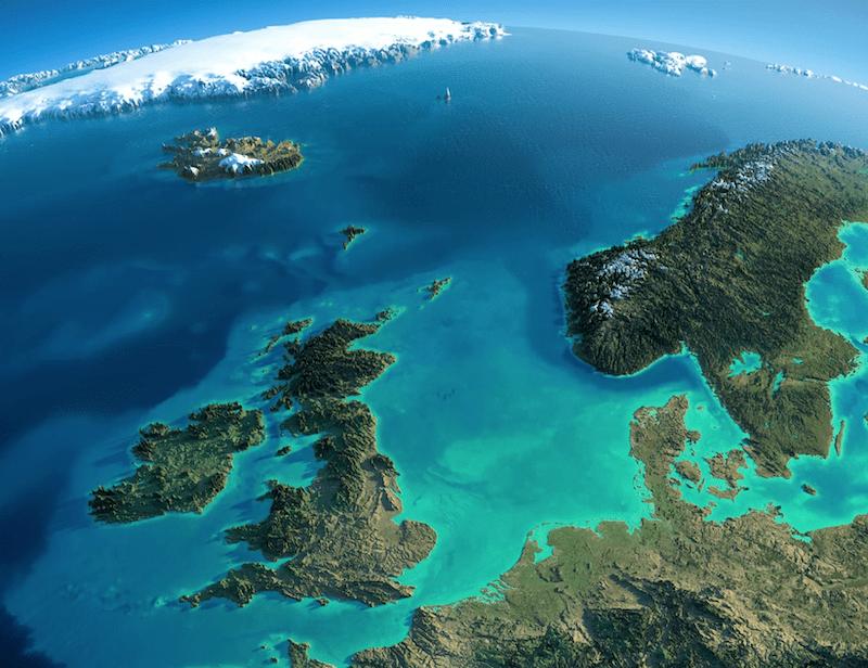 doggerland en el mar del norte