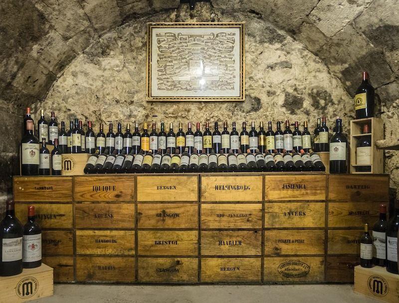 envasado de vino en la historia