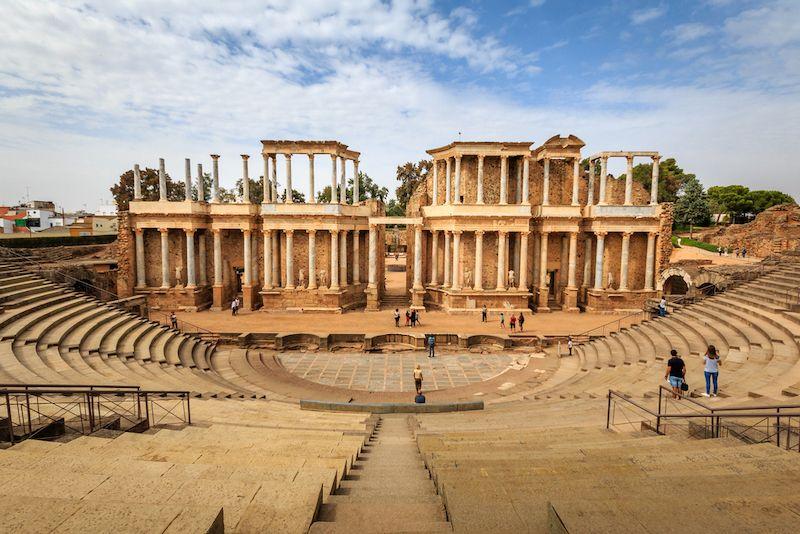 teatro romano de merida