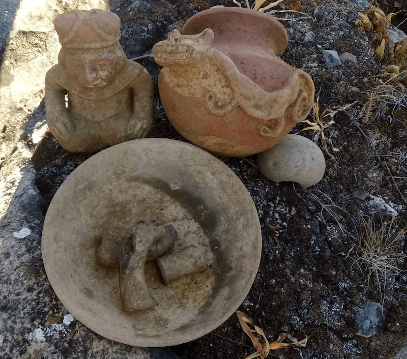 objetos arqueologicos chugay
