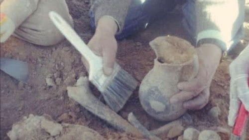 objetos arqueologicos bolivia