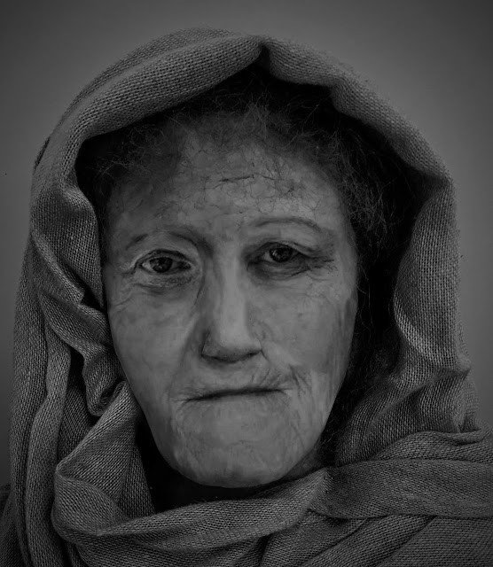 reconstruccion digital rostro druida