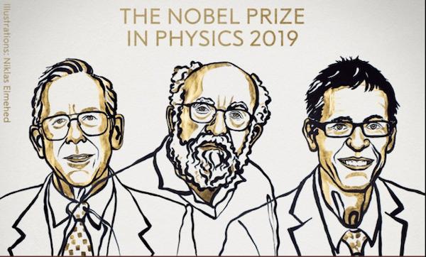 nobel de fisica 2019 historiador del universo