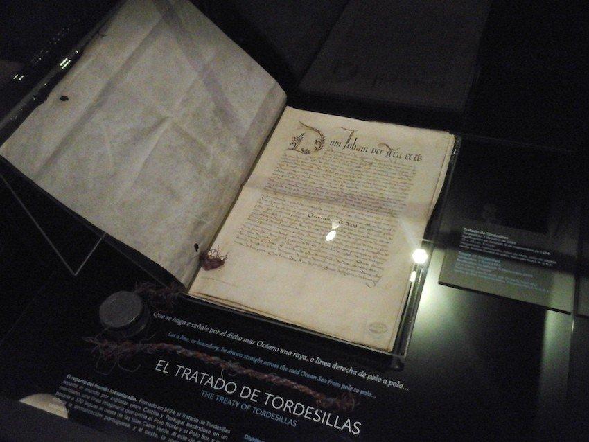 copia portuguesa tratado de tordesillas