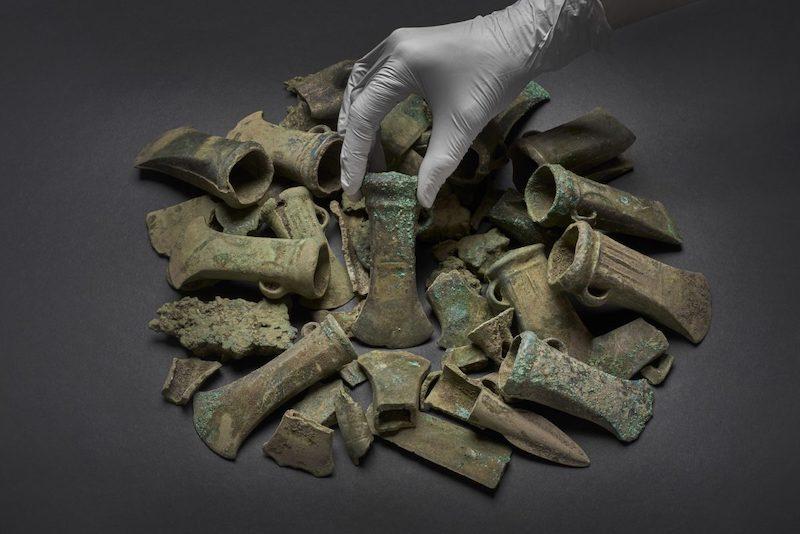 tesoro de edad del bronce londres
