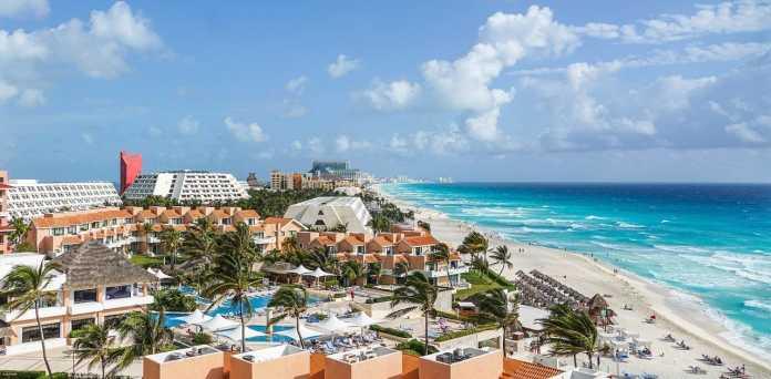 playas de cancun mexico