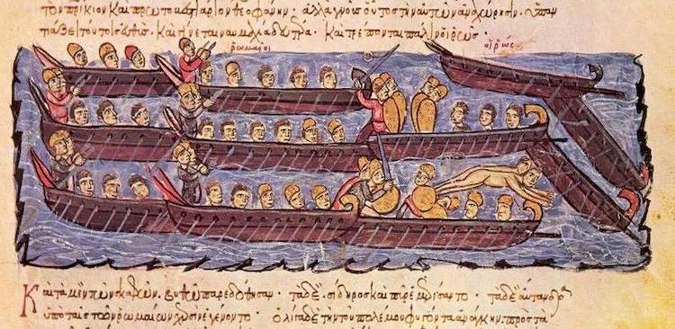 flota bizancio
