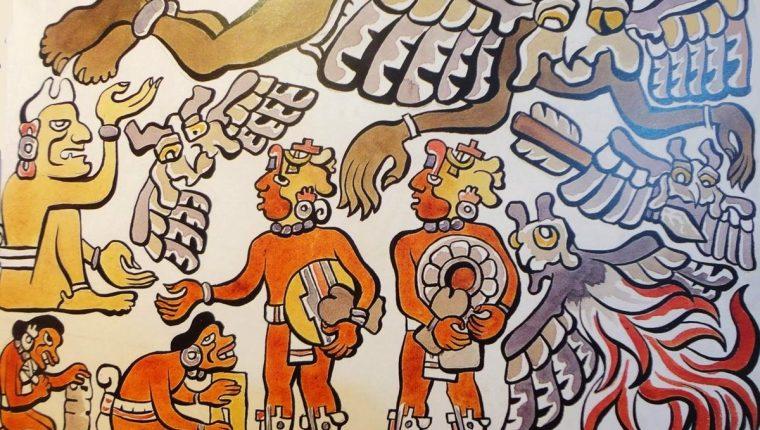 cosmogenesis maya mito creacion