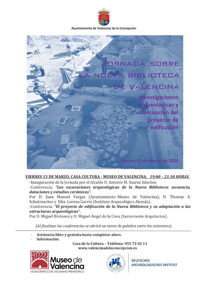 Jornada de difusión arqueológica en el Museo de Valencina nueva biblioteca