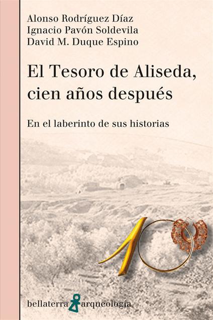 portada libro tesoro de aliseda 100 años despues