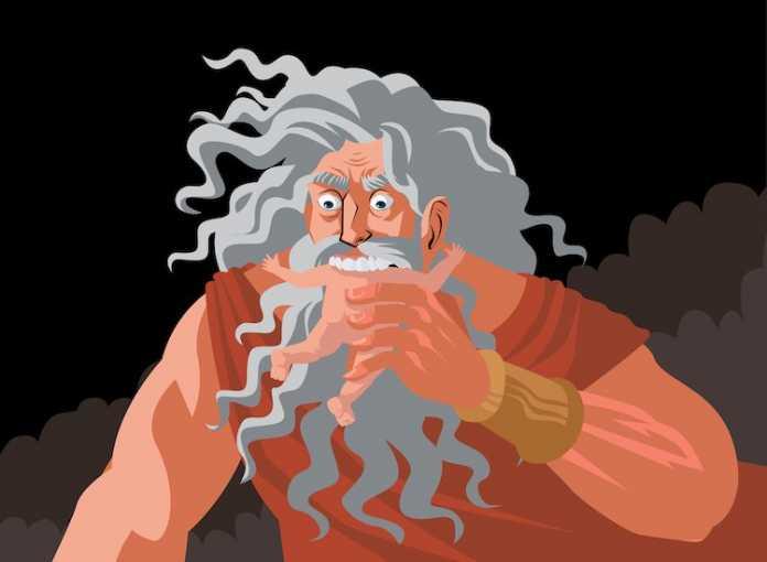 dios cronos mitologia griega