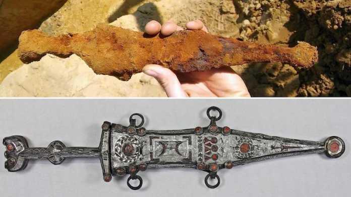 daga romana teutoburgo