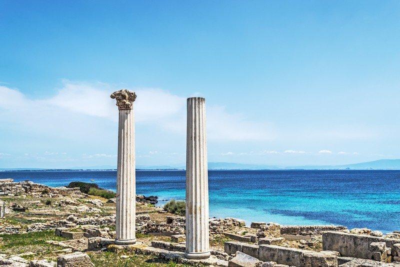 templo romano cerdeña