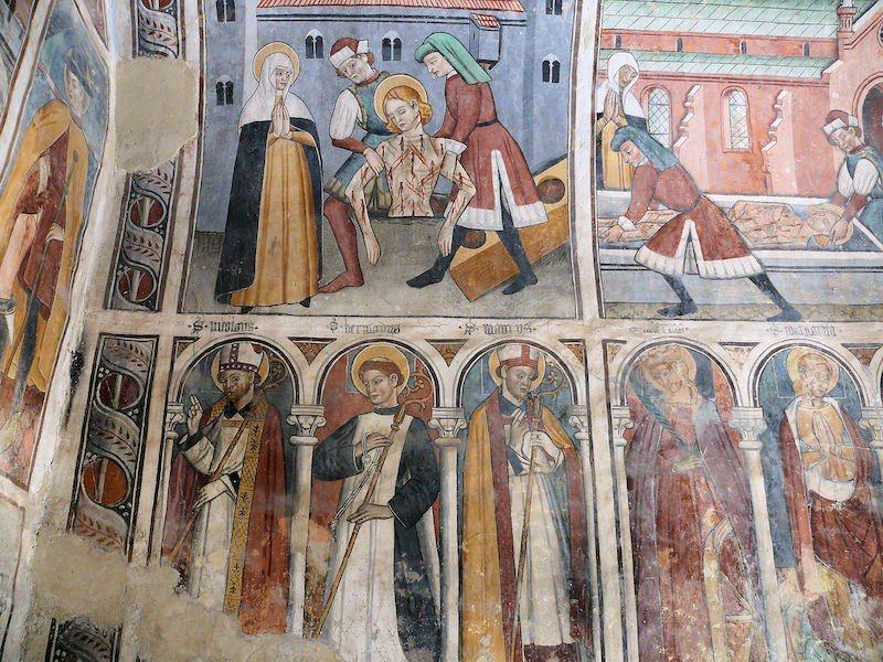 fresco arte gotico