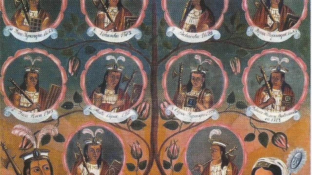 Lista Completa De Emperadores Incas Red Historia
