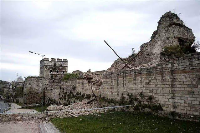 muralla de constantinopla estambul