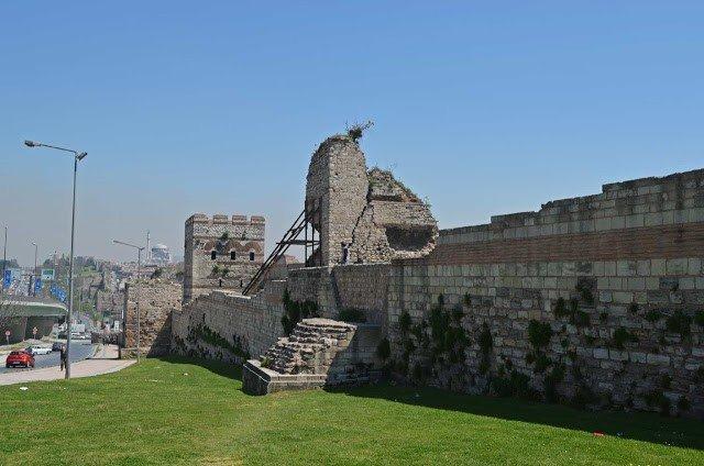 muralla teodosiana