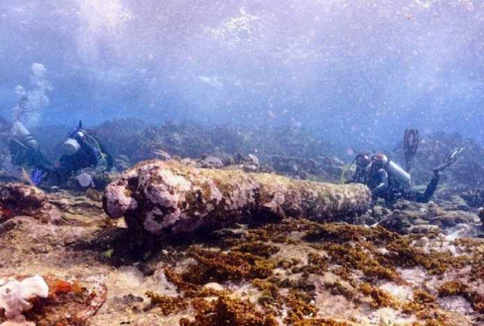 restos naufragio mexico