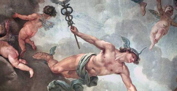 hermes el mensajero de los dioses