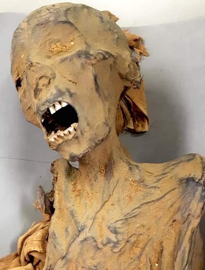 momia que grita egipto