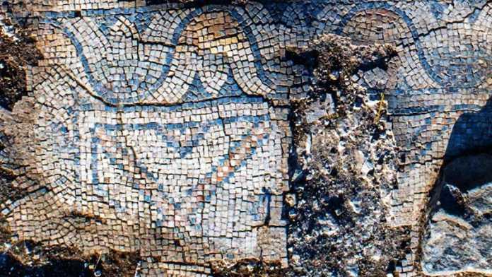 mosaico iglesia israel