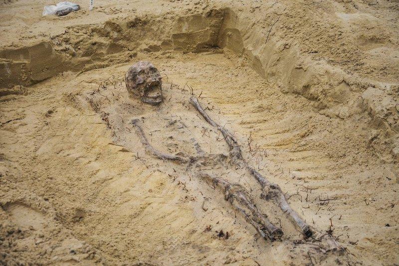 Descubren restos de más de 100 niños con monedas en la boca en una ...