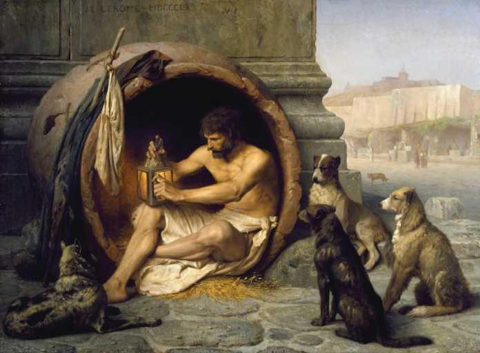 biografia de diogenes el cinico