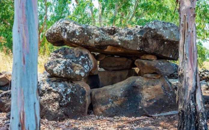 dolmenes golan israel