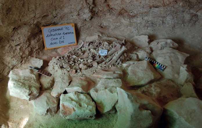 nicho sepulcro calcolitico