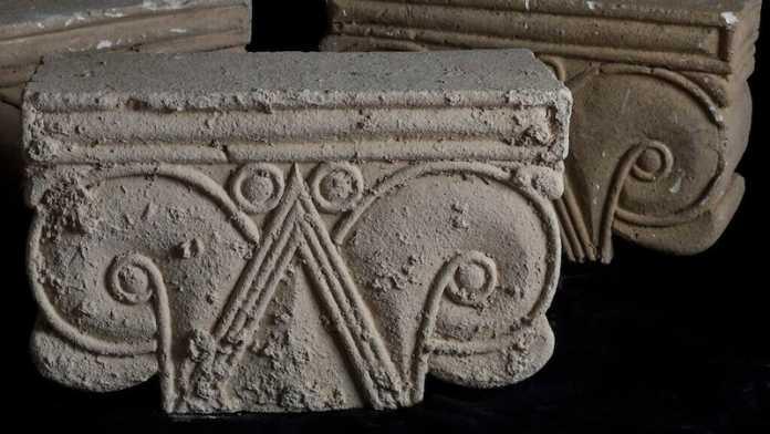 capiteles primer templo jerusalen