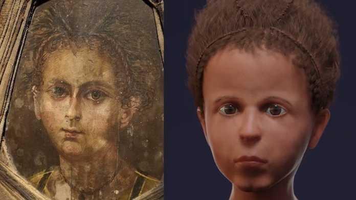 reconstruccion rostro egipcio