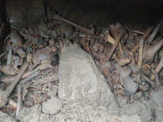 restos humanos casa rusia