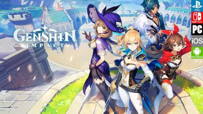 portada videojuego Genshin Impact