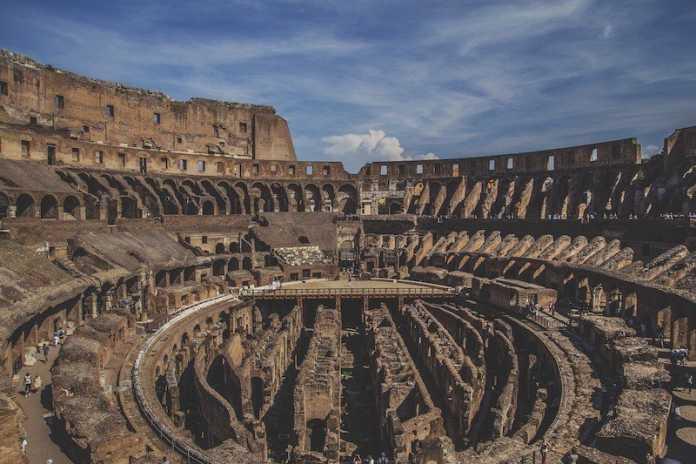 coliseo romano antigua roma