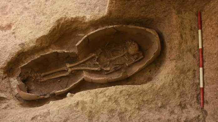 esqueleto imperio parto iran