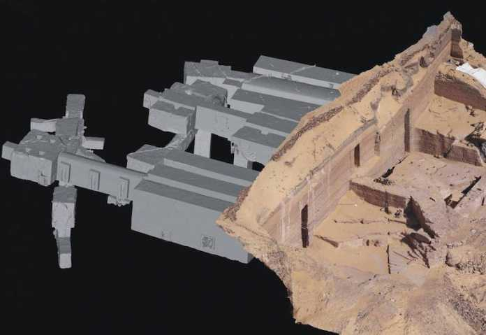 construccion tumbas asuan