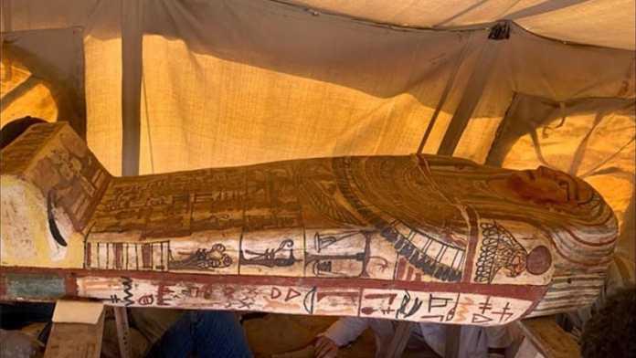 descubren sarcofagos egipto saqqara