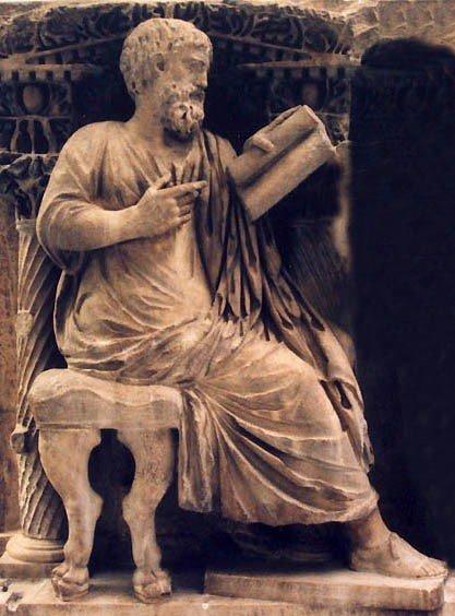 estatua de zenodoto de efeso
