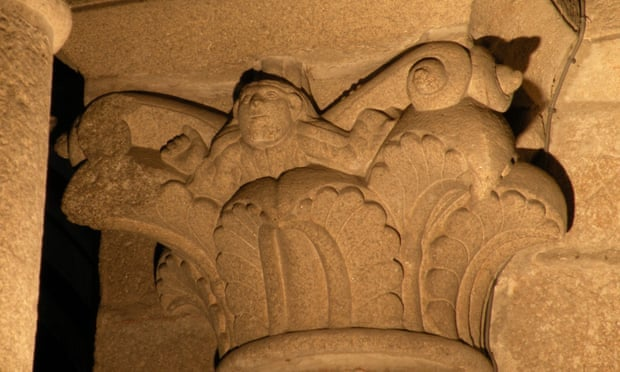 selfi de piedra catedral santiago
