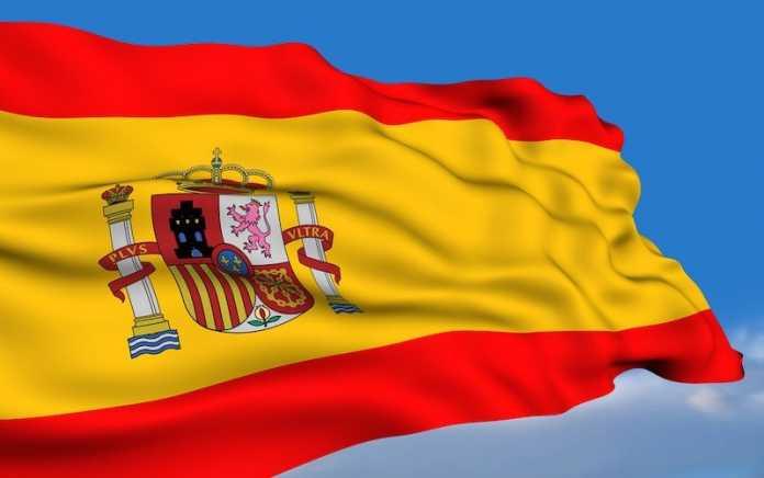 bandera oficial españa con escudo
