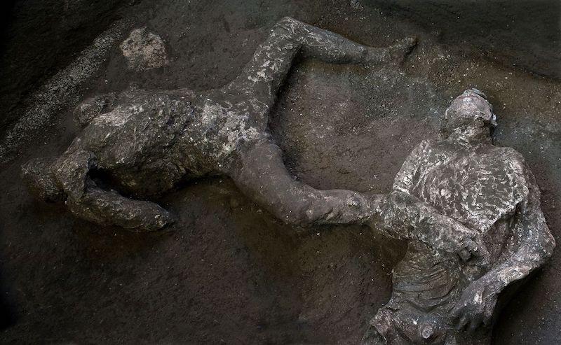 restos pompeya
