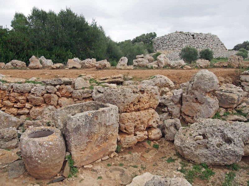 cultura talayotica menorca