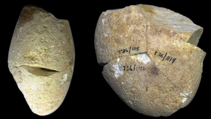 herramienta piedra 350000 años