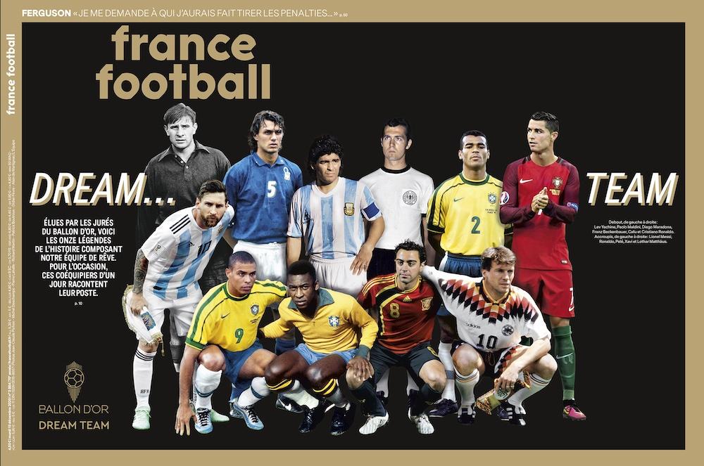 mejores jugadores de la historia france football
