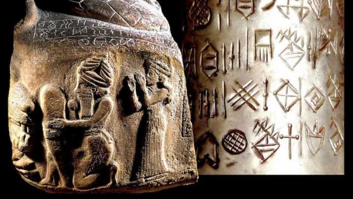 origen escritura iran