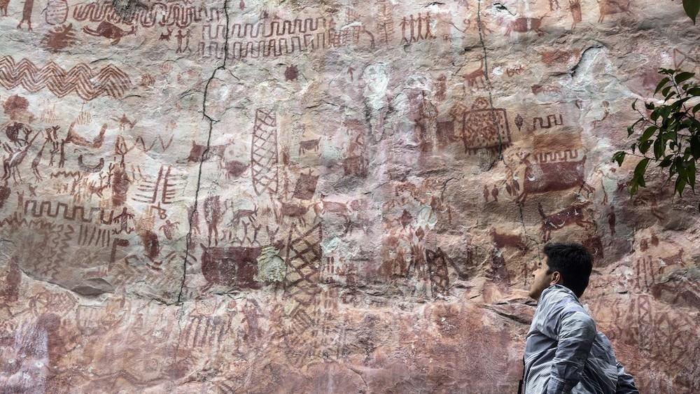 Descubren la prehistórica 'Capilla Sixtina de los antiguos' en la selva amazónica de Colombia | Red Historia