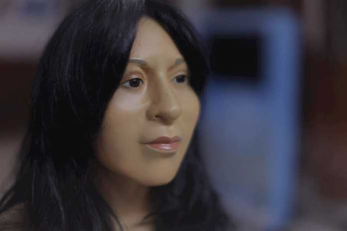 reconstruccion rostro dama de el paraiso